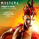 Купить билеты билеты на шоу 'Mystere' 'Цирка дю Солей' в Лас-Вегасе (Cirque du Soleil Tickets). Нажмите на кнопку для входа в систему онлайн-бронирования билетов (откроется в новом окне).