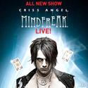 Онлайн бронирование билетов на шоу 'Mindfreak' Крисса Энджела в Лас-Вегасе (Criss Angel's Show Tickets). Нажмите на кнопку для входа в систему онлайн-бронирования билетов (откроется в новом окне).