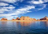 Купить онлайн 4-дневный автобусный круговой тур-трансфер из Лас-Вегаса, Лос-Анджелеса или Сан-Франциско с экскурсиями по Национальному парку Гранд-Каньон,  озеру Пауэлл,  Хорсшу-Бенд, Каньону Антилопы, резервации индейцев и Лас-Вегасу - 4-Day Bus Tour to Antelope Canyon, Grand Canyon South and Lake Powell (Lake Powell Canyons, Antelope Canyon, Horseshoe Bend, Navajo Tribal Park)