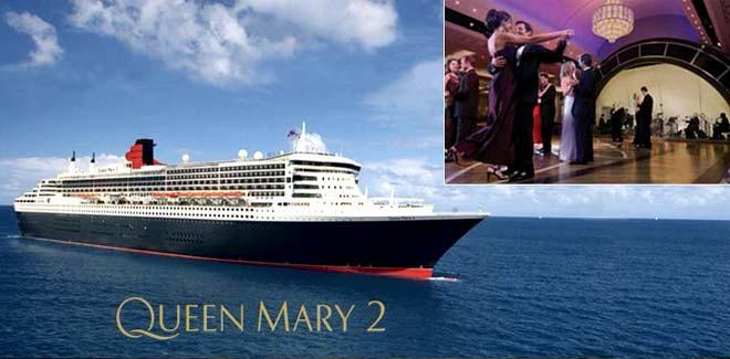 Круизный лайнер 'Queen Mary 2' ('Королева Мария - 2'), круизная линия 'Cunard'