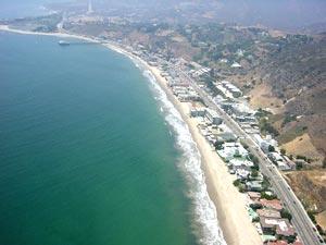 Малибу (Malibu) - знаменитые пляжи Калифорнии