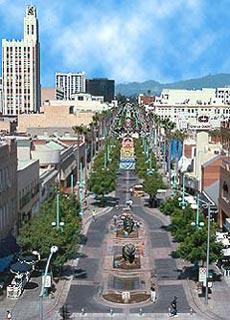 Санта-Моника (Santa Monica), Променад на 3-й улице (The Third Street Promenade)