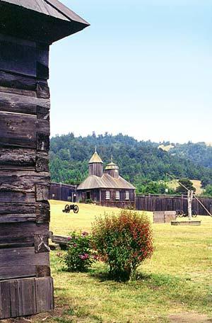 Русская крепость Форт Росс (Fort Ross)