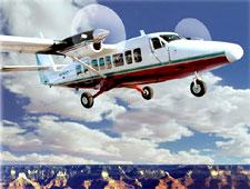 Авиа-тур над Гранд-Каньоном на специальном туристическом самолете.