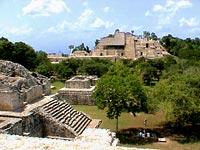 Эк-Балам (Ek Balam) - археологическая зона, один из важнейших культурных центров майя. Экскурсии в Канкуне и на Ривьера Майя.
