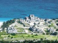 Тулум (Tulum) - археологический центр, единственный портовый город-крепость майя. Экскурсии в Канкуне и на Ривьера Майя.