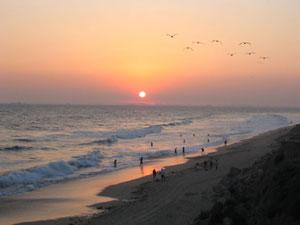 Хантингтон (Huntington) - знаменитые пляжи Калифорнии