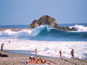Лагуна-Бич (Laguna Beach) - знаменитые пляжи Калифорнии