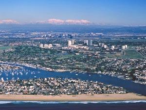 Ньюпорт (Newport) - знаменитые пляжи Калифорнии