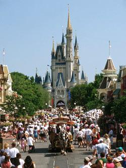 Magic Kingdom (Волшебное Королевство) - первый парк комплекса 'Мира Диснея' (Walt Disney World Resort)