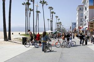Бульвар Венис-Бич (Venice Beach Boulevard) - знаменитые пляжи Калифорнии