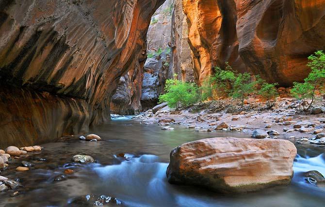 Национальный парк Зайон, США (Zion National Park, USA). Туры из Лас-Вегаса в Национальный парк Зайон от туроператора по США 'Cosmopolitan Travel'.